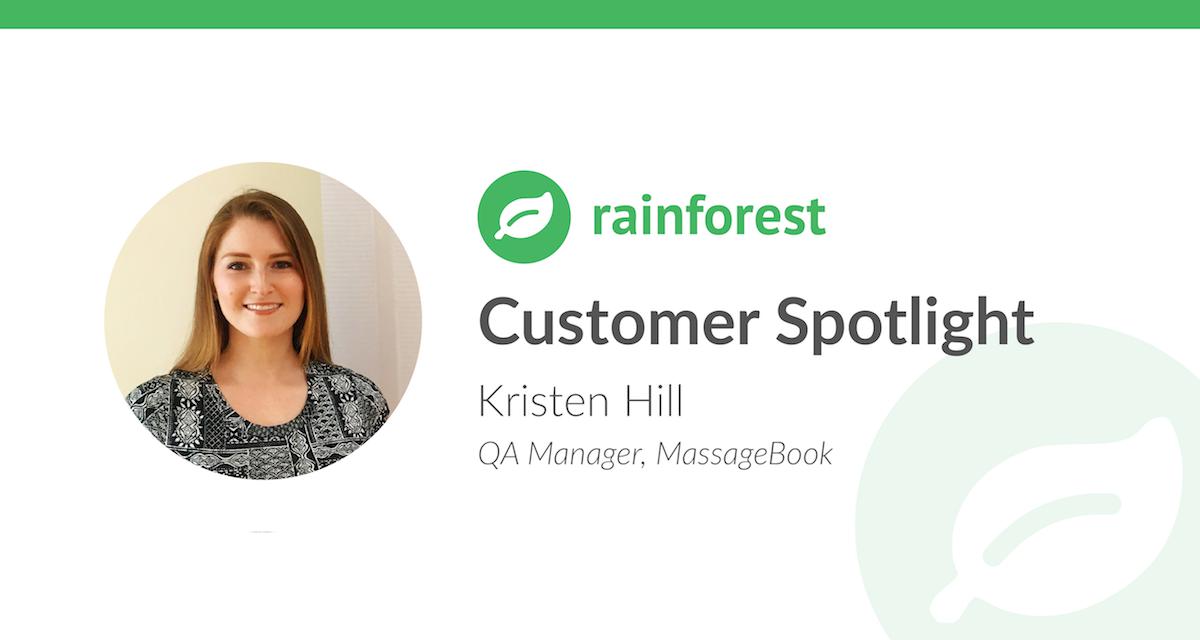 Kristen Hill MassageBook Customer Spotlight