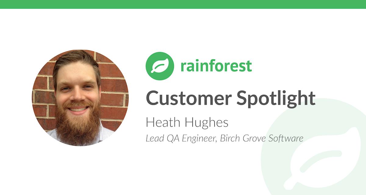 Customer Spotlight Heath Hughes Birch Grove